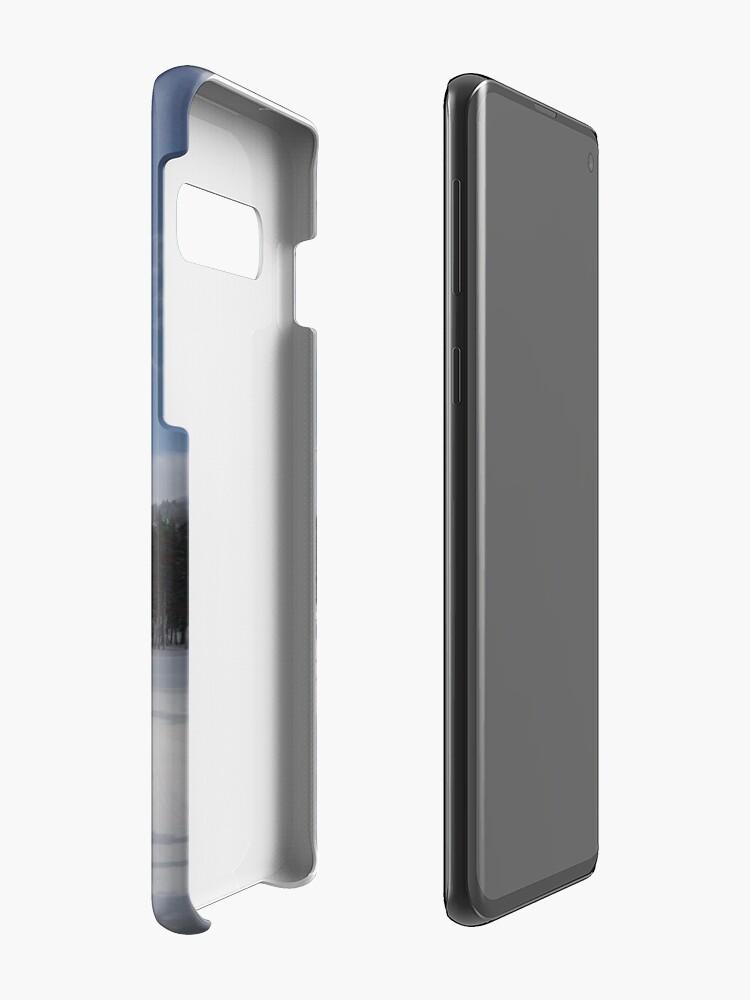 Vista alternativa de Funda y vinilo para Samsung Galaxy Invierno californiano