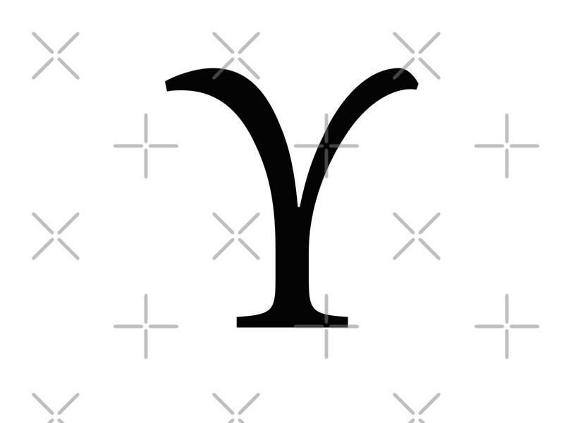 Upsilon Greek Letter