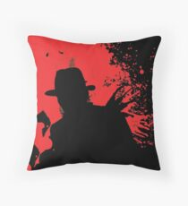 Icons of Horror - Freddy Throw Pillow