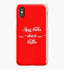 Keep Calm drink Coffee iPhone Case/Skin