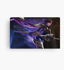 Fiora Fan Splash Art Canvas Print