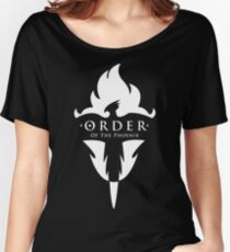 ORDER Of The Phoenix White Women's Relaxed Fit T-Shirt