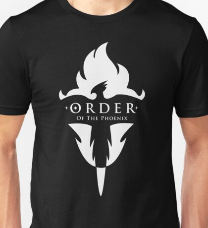 ORDER Of The Phoenix White Unisex T-Shirt