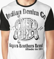 Indian Denim Co by Rogers Bros Graphic T-Shirt