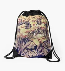we found love Drawstring Bag