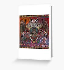 """Totem"" Greeting Card"