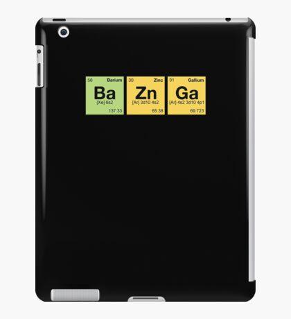 Ba Zn Ga! - periodic elements scramble iPad Case/Skin