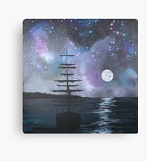 Neverland at Night 2 Canvas Print