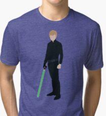 Luke Skywalker 1 Tri-blend T-Shirt