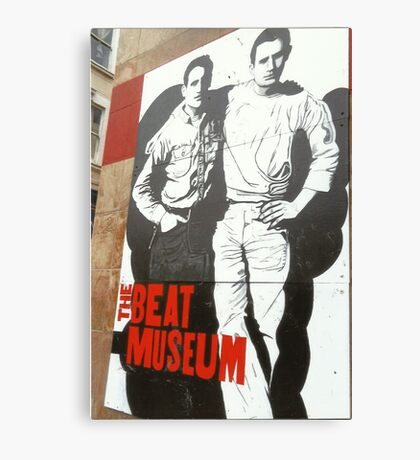 Hey, Jack Kerouac!(Beat Museum,North Beach,San Francisco Canvas Print
