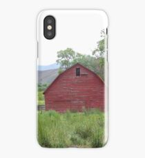 Barn of Yesterday  - Ironside, Oregon iPhone Case