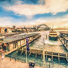 Circular Quay, Sydney  (GO6) by Ray Warren