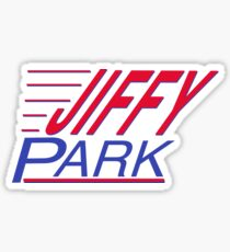 Seinfeld - Jiffy Park  Sticker