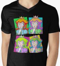 Pop Art Princess Men's V-Neck T-Shirt