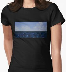 The Horizon Line Women's Fitted T-Shirt