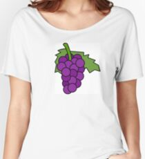 Simple Grapes Women's Relaxed Fit T-Shirt