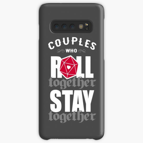 Couples who roll together, stay together D20 Samsung Galaxy Snap Case