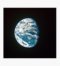 The Earth Photographic Print