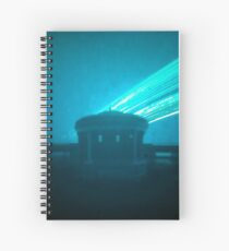 12 week exposure at Eastbourne Bandstand Spiral Notebook