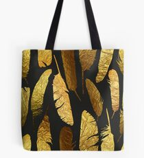 - Golden feathers - Tote Bag