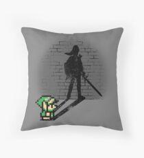 Becoming a Legend - Link Throw Pillow