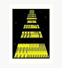 Phonetic Star Wars Art Print