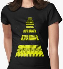 Phonetic Star Wars Women's Fitted T-Shirt
