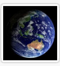 Full Earth from space showing Australia Sticker