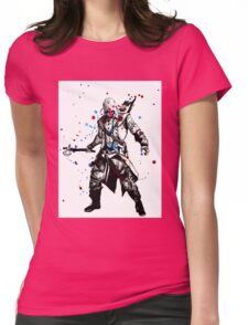 A Splash of Color Assassin Womens Fitted T-Shirt