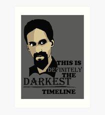 The Darkest Timeline Art Print
