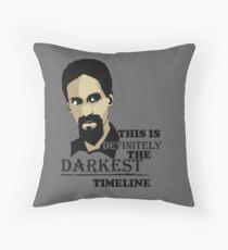 The Darkest Timeline Throw Pillow