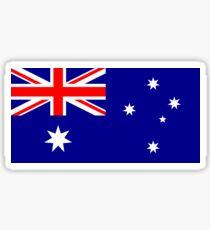 Australische Weltcup-Flagge - Australien Team T-Shirt Oi! Sticker