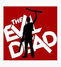 the evil dead ash vs evil dead Photographic Print