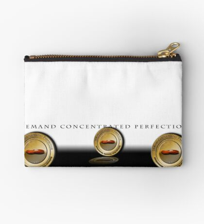 Demand Concentrated Perfection (Coins1) Studio Pouch