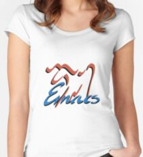 Emacs  Women's Fitted Scoop T-Shirt