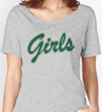 FRIENDS GIRLS SWEATSHIRT(green) Women's Relaxed Fit T-Shirt