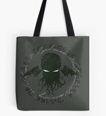 In his house at R'lyeh dead Cthulhu waits dreaming Tote Bag