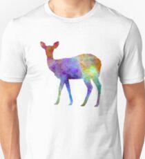 Female Deer 02 in watercolor T-Shirt