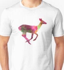 Female Deer 01 in watercolor T-Shirt
