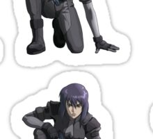 Ghost in the Shell, Major crouching (6 colour stickers) Sticker