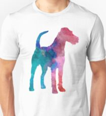Irish Terrier in watercolor Unisex T-Shirt