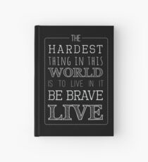 Buffy Typography Inverted Hardcover Journal