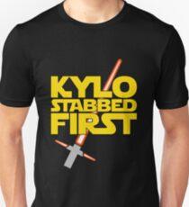 Kylo Stabbed First (Star Wars episode VII) T-Shirt