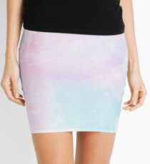 Magical Pastel Galaxy Mini Skirt