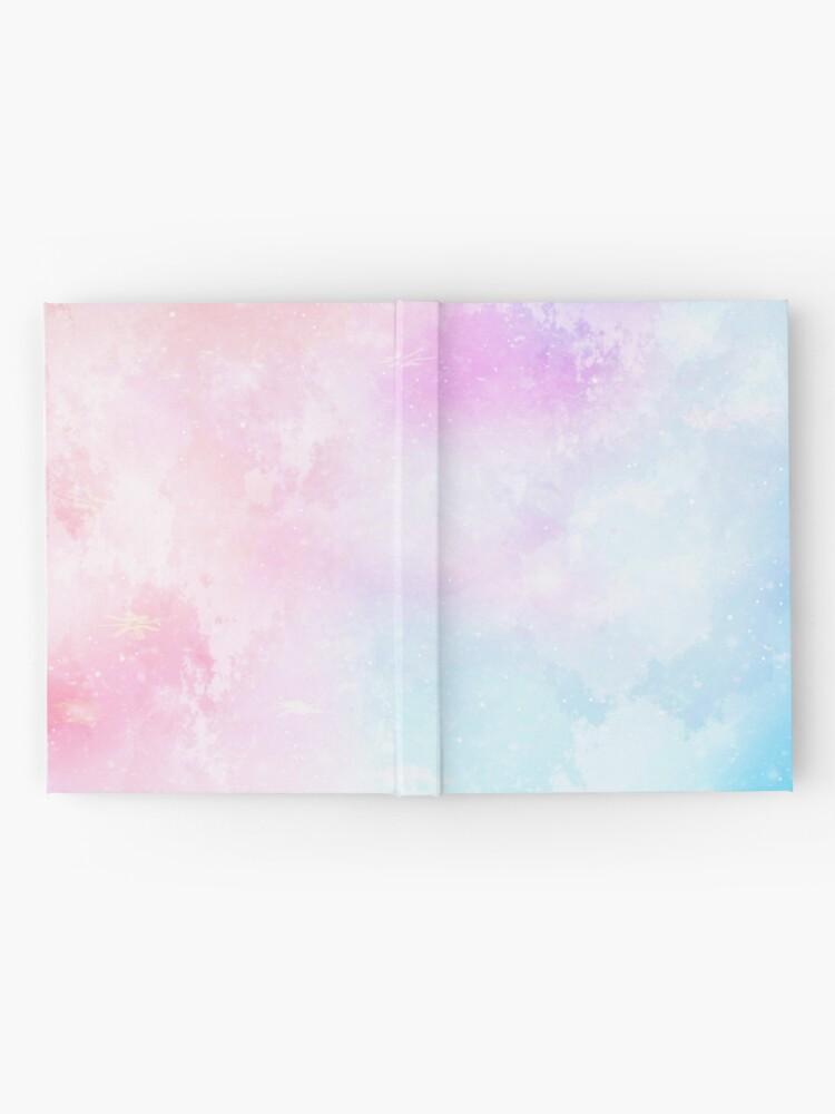 Alternative Ansicht von Magische Pastellgalaxie Notizbuch