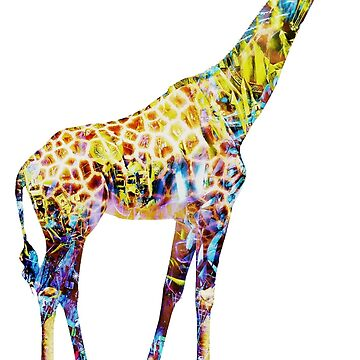 EDM Giraffe by BrittainDesigns