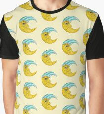 Old Man Moon Graphic T-Shirt