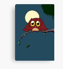 Lil' Owl Canvas Print