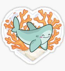 BYTE the Great White Shark Sticker