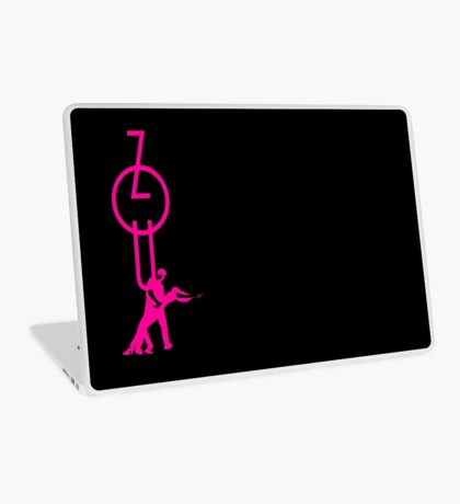 lets dance zouk - pink Laptop Skin